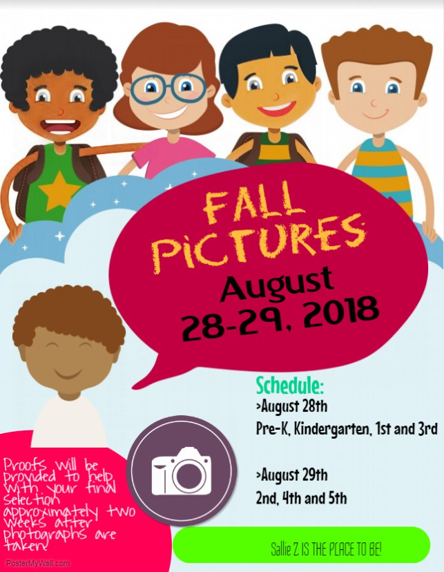 Fall pictures flyer